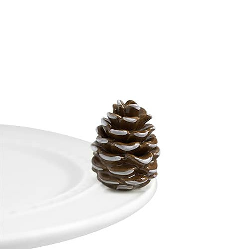 Nora Fleming Mini -Pretty Pinecone