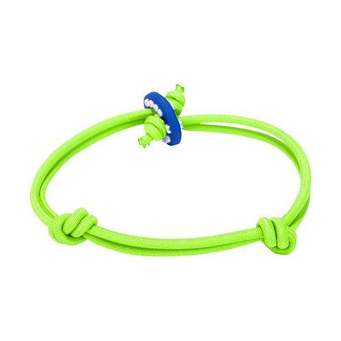 Colors for Good Luck Neon Green Bracelet