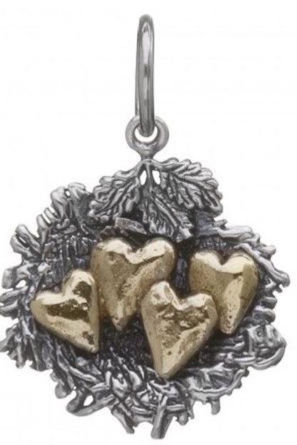 Bundled by Love Nest Charm - 4 Hearts