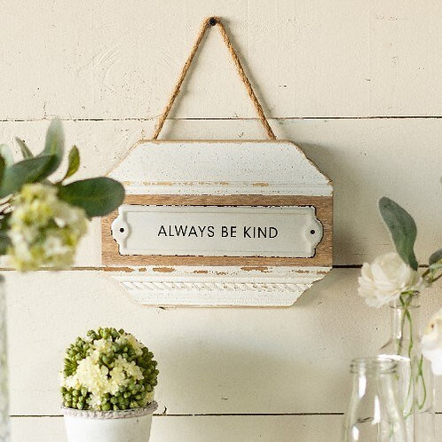 Always Be Kind Wooden Sign