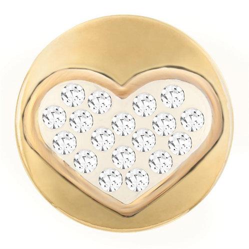 Gold Heart Petite GingerSnap