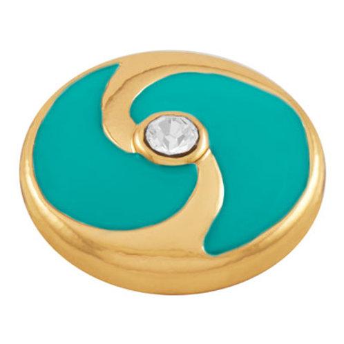 Lotti Dotties Tide - Gold and Spearmint