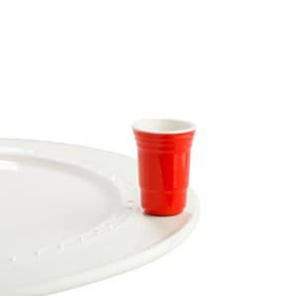 Nora Fleming Mini - Fill Me Up Red Cup