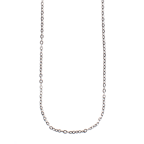 Small Rolo Chain - Sterling Silver - 30 Inch