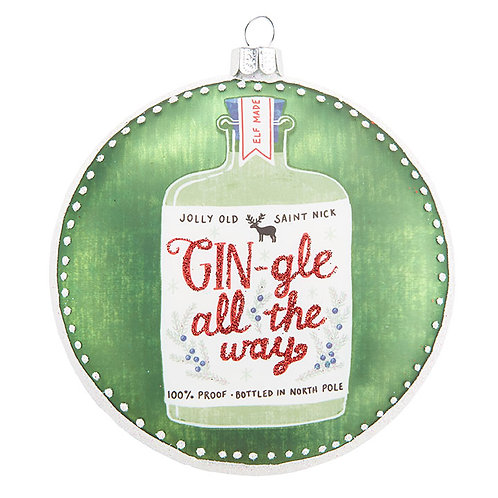 Gin-gle All the Way Ornament
