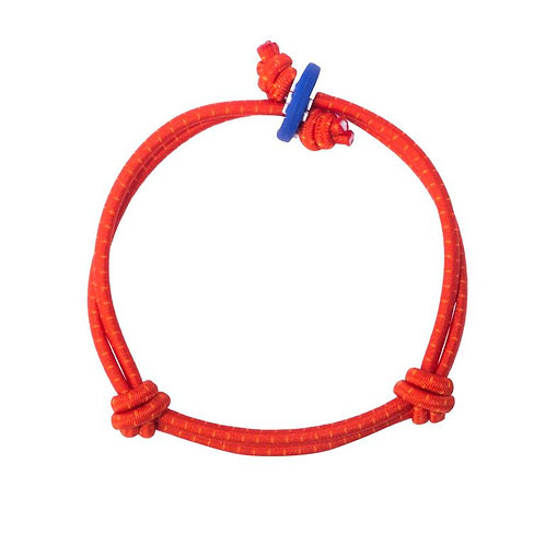 Colors for Good Vision Red with Dots Bracelet