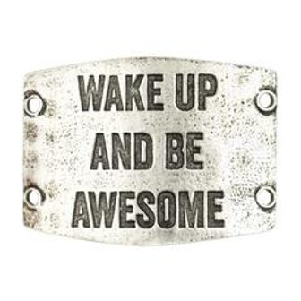 Large Sentiment | Wake up and be awesome