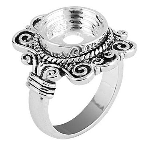Lotti Dotties Rectangle Scroll Ring