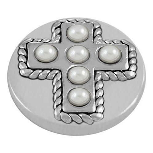 Lotti Dotties Cream Pearl Cross Dottie