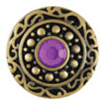 Beverly - Purple Antique Brass