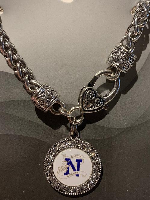Norwin Heart Clasp Bracelet