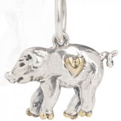 Personal Vocabulary Charm - Piglet Love
