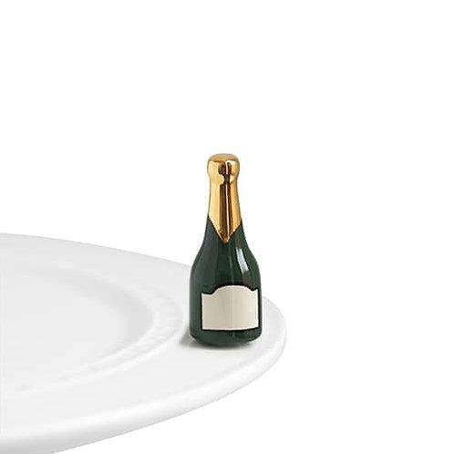 Nora Fleming Mini - Champagne Celebration! Bottle