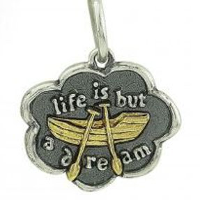 Life is but a Dream Charm
