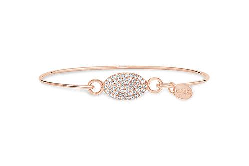 Rose Gold Pave Opal Bracelet