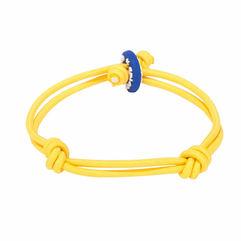 Colors for Good Happiness Yellow Bracelet