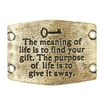 Large Sentiment | The meaning of life is to find your gift. The purpose of life