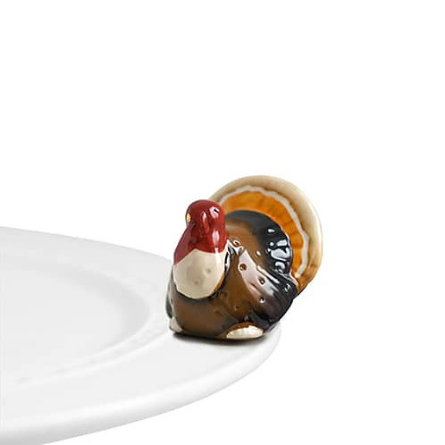 Nora Fleming Mini - Gobble, Gobble Turkey