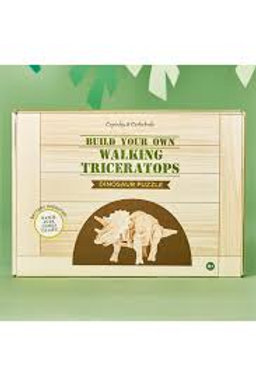 Build Your Own Walking Dinosaur Triceratops