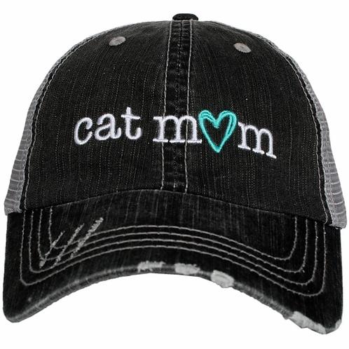 Cat Mom Trucker Hat
