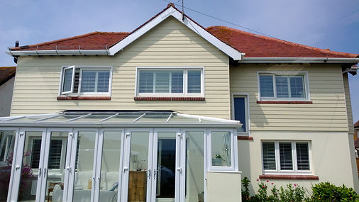 Cedral weather board cladding