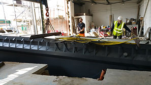 Vehicle Inspection Pit Installation