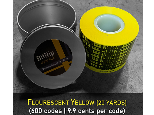 Fluorescent Yellow Tape (Free App)