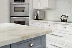 Centerpiece Leathered Marble Top