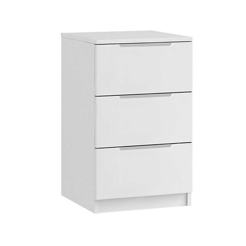 EDMONTON 3 Drawer Bedside