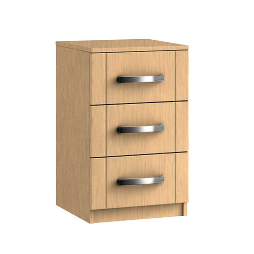 REGINA 3 Drawer Bedside