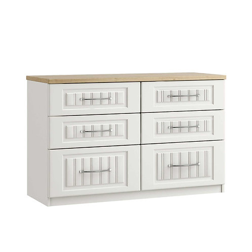 PORTO 6 Drawer Twin Chest