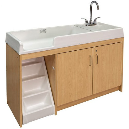 Changing Table with Steps & Sink