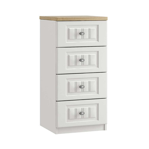 PORTO 4 Drawer Narrow Chest