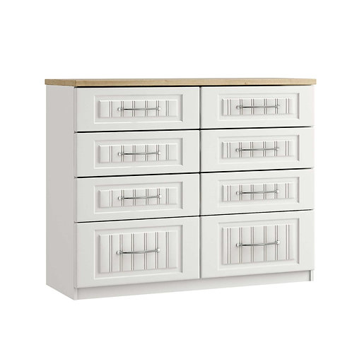 PORTO 8 Drawer Twin Chest