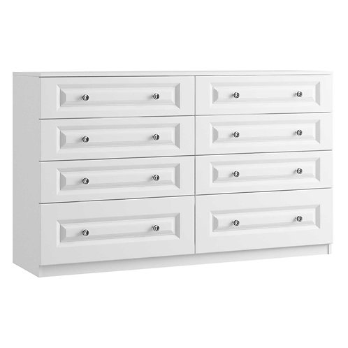 LEON 8 Drawer Twin Chest