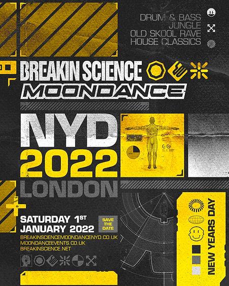 moondance Breakin Science london 2022