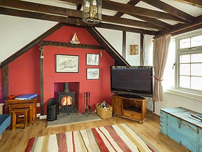 Living room, Anchor Cottage, Staithes