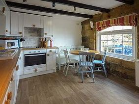 Kitchen, Anchor Cottage, Staithes