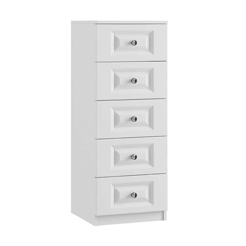 LEON 5 Drawer Narrow Chest