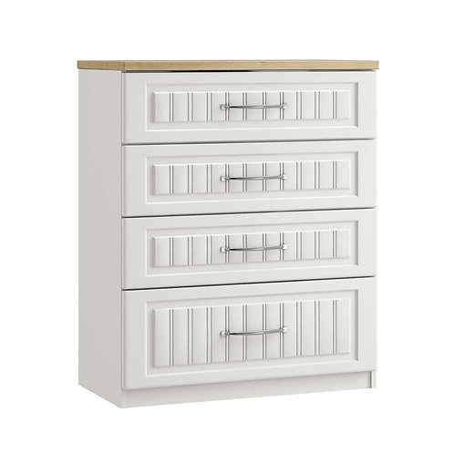 PORTO 4 Drawer Chest (1 Deep Drawer)