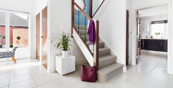 home - scrolling banner - hall & stairs