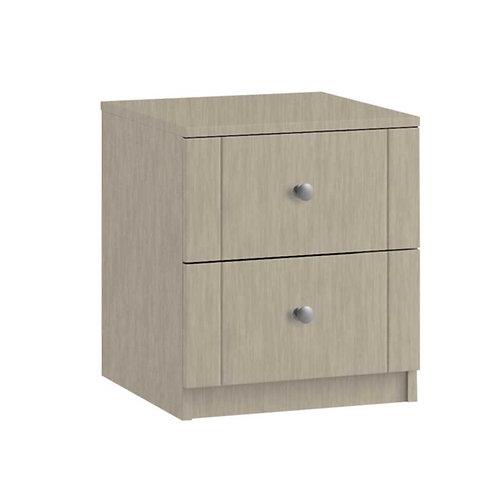 GENOVA 2 Drawer Bedside