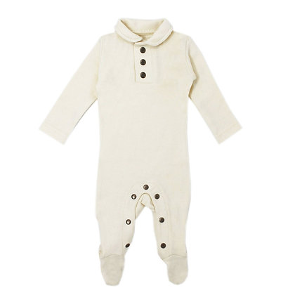 L'oved Baby || Footed Polo Sleeper