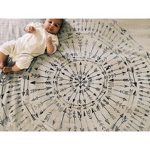 Fading Arrows 4-Layer Luxury Blanket
