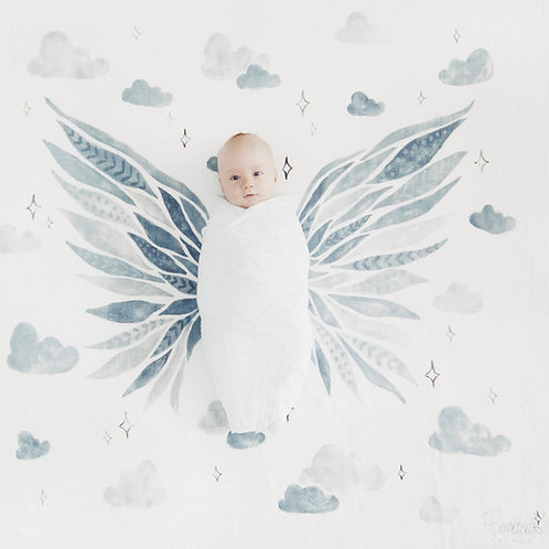 Bigger Than the Sky Swaddle