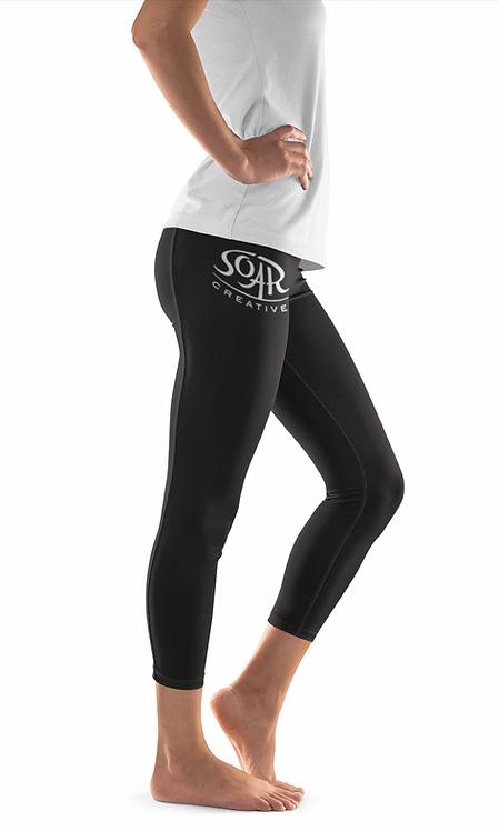 Ladies Cotton/Spandex Leggings