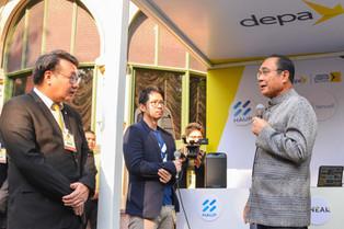 DEPA ร่วมกับ HAUPCAR โชว์นวัตกรรมการเดินทางที่ทำเนียบรัฐบาล