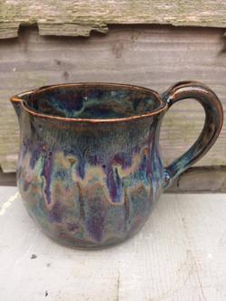 Amaco glazed jug