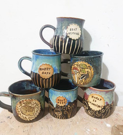 Bit rainy! But these new mugs are bright