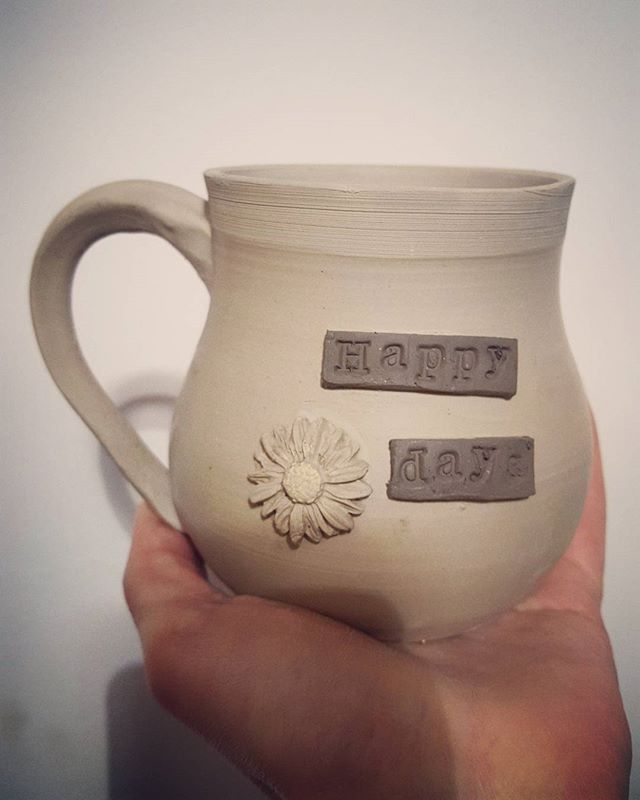 Its a rainy, mug making kind of day ☕🌻